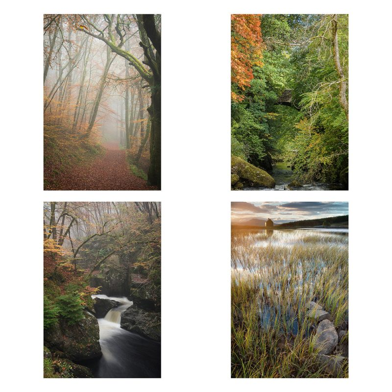 Card Packs Landscape - Around Crieff 1 - 4