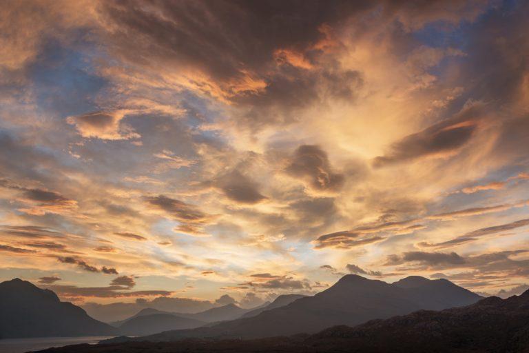Red Dawn Loch Torridon