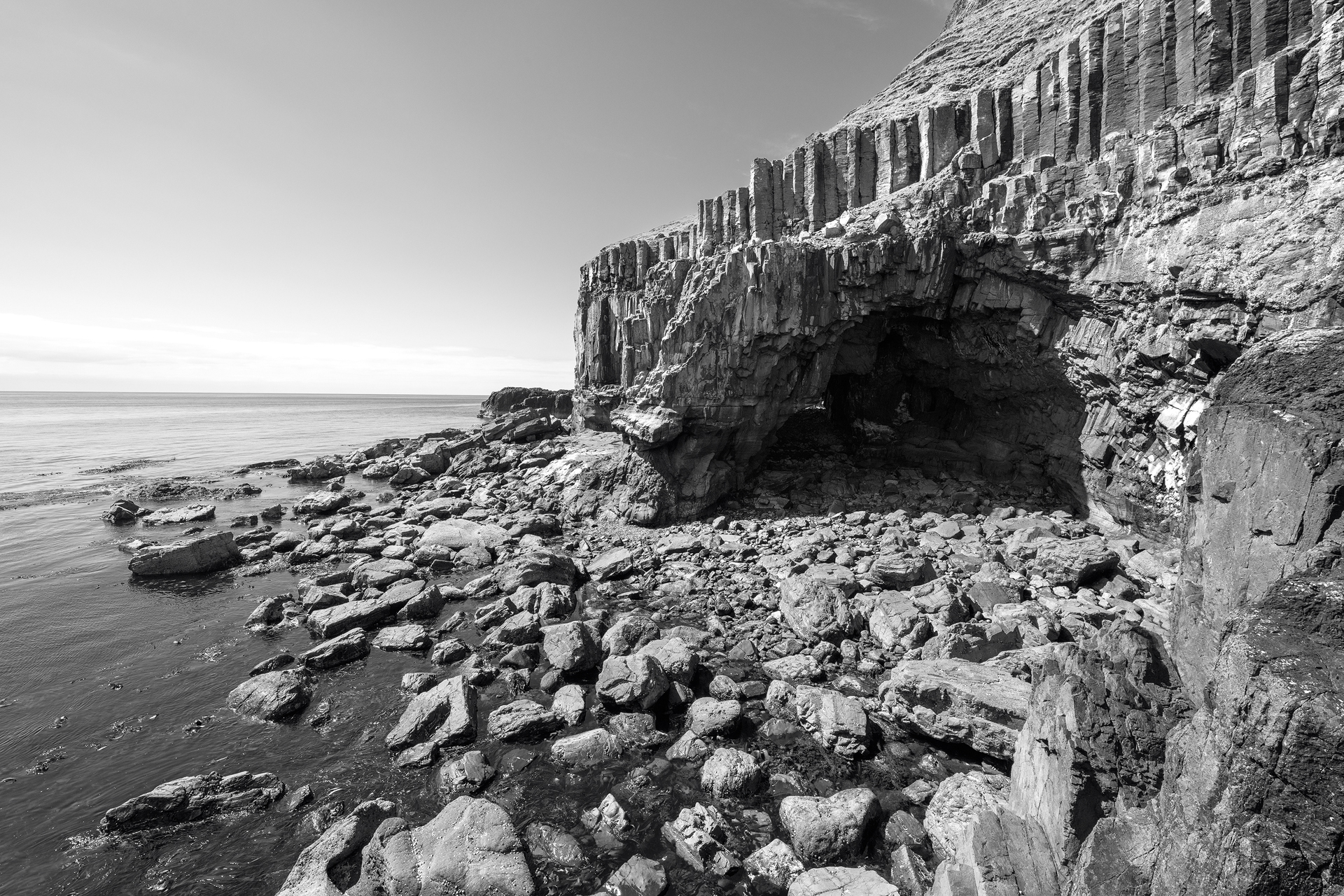 Annette Forsyth Photography - Carsaig Arches, Isle of Mull