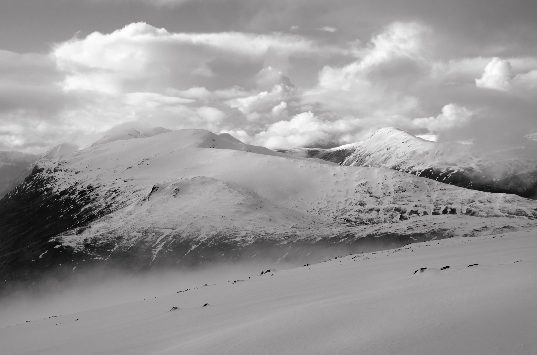 Beinn a Chrulaiste after the storm