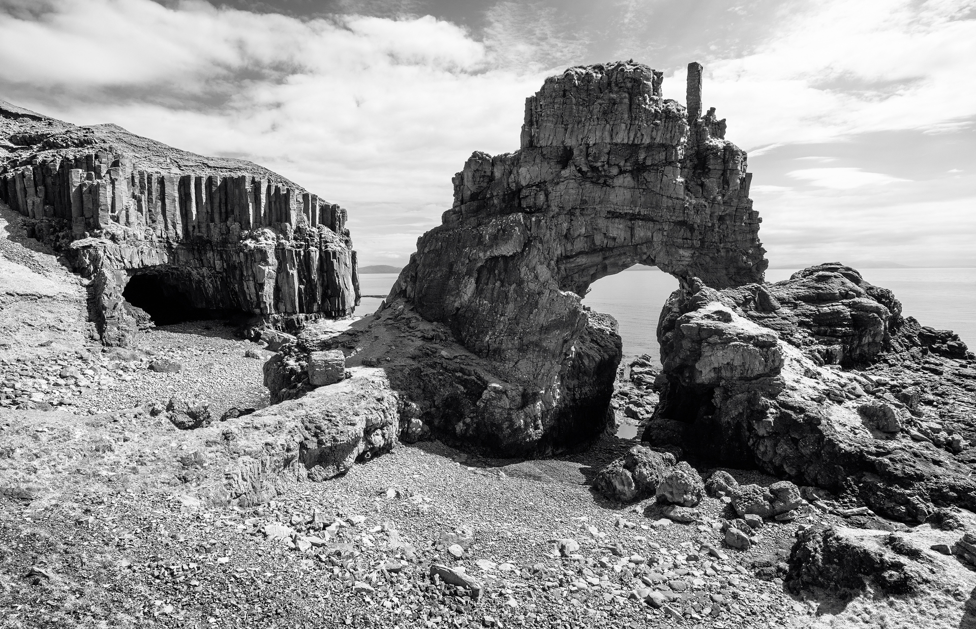 Carsaig Arches on Mull - Annette Forsyth Photography