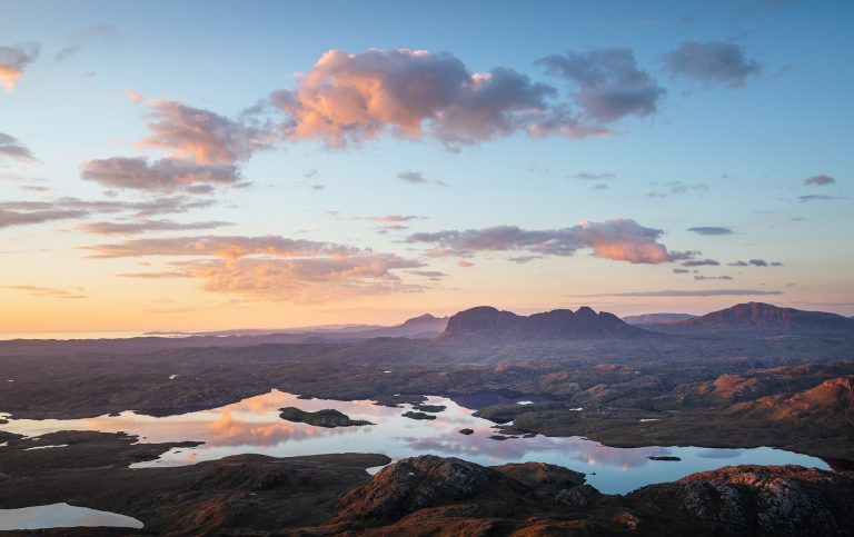 Sunset over Suilven, Assynt - Annette Forsyth Photography