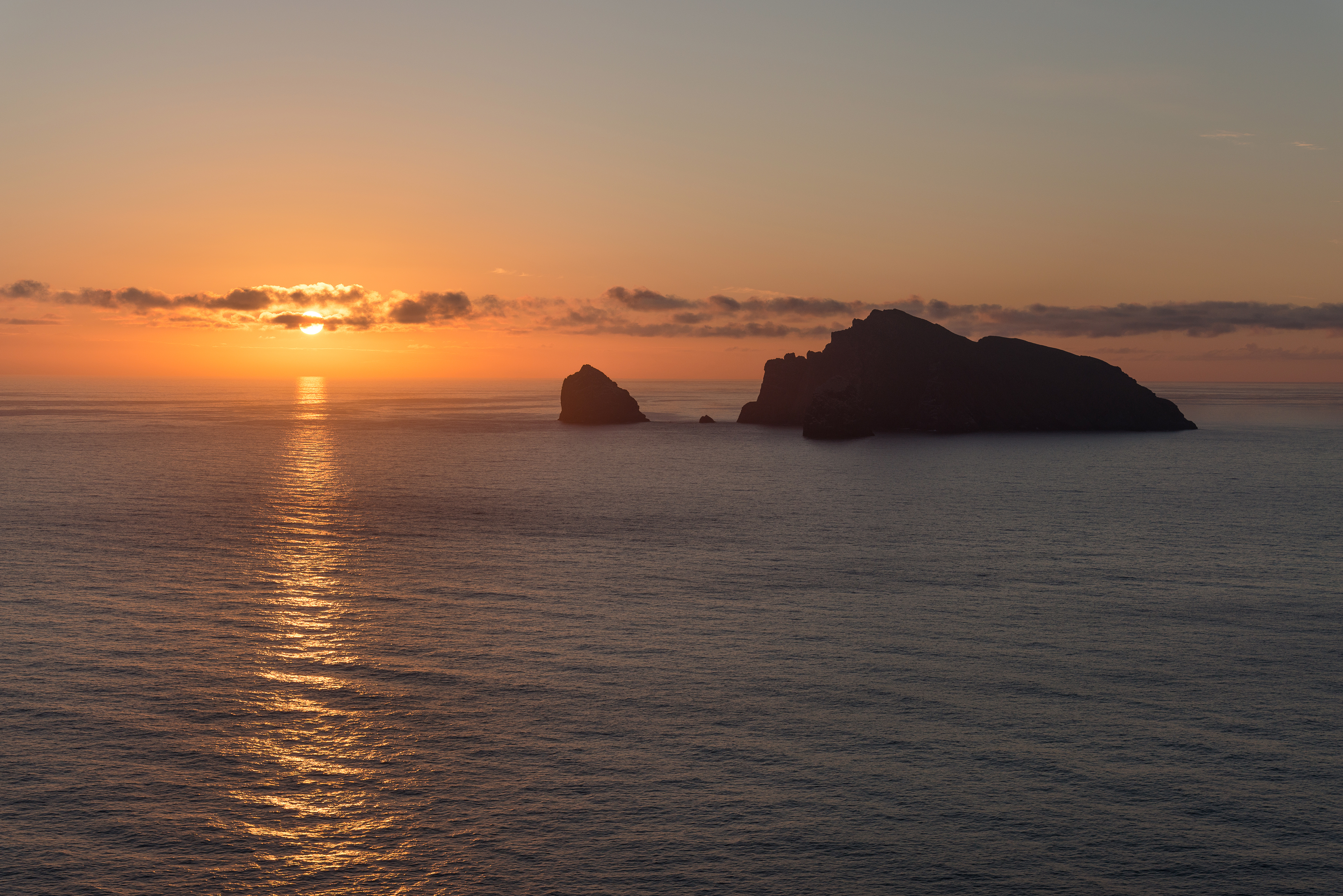 Boreray Sunrise, St. Kilda