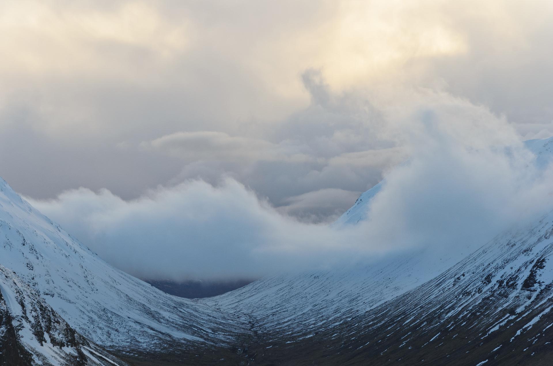 Clearing Blizzard, Glencoe