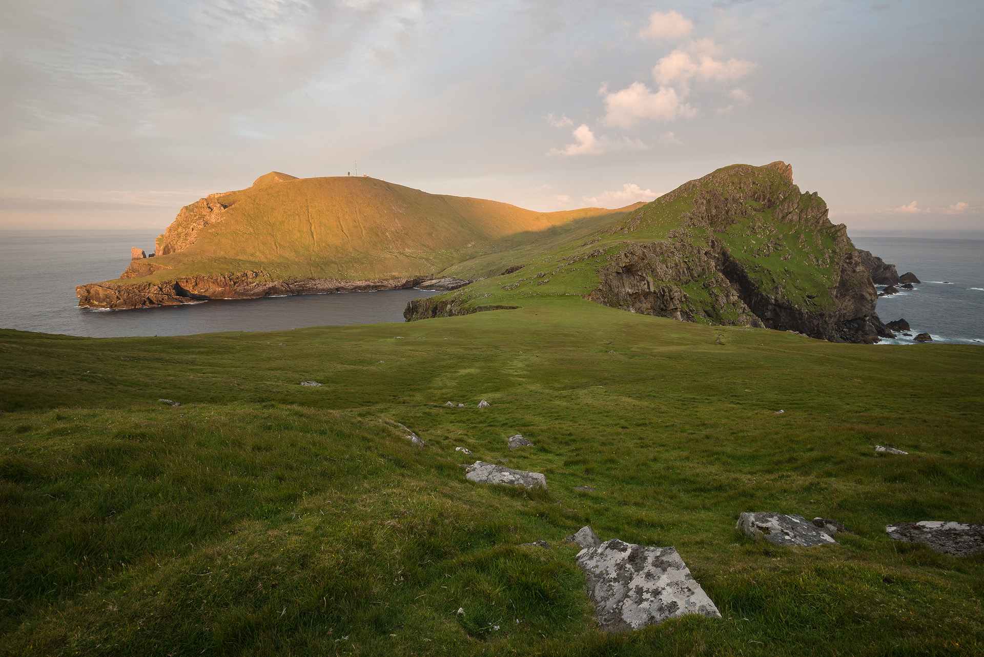 Evening Rays on Hirta, St. Kilda