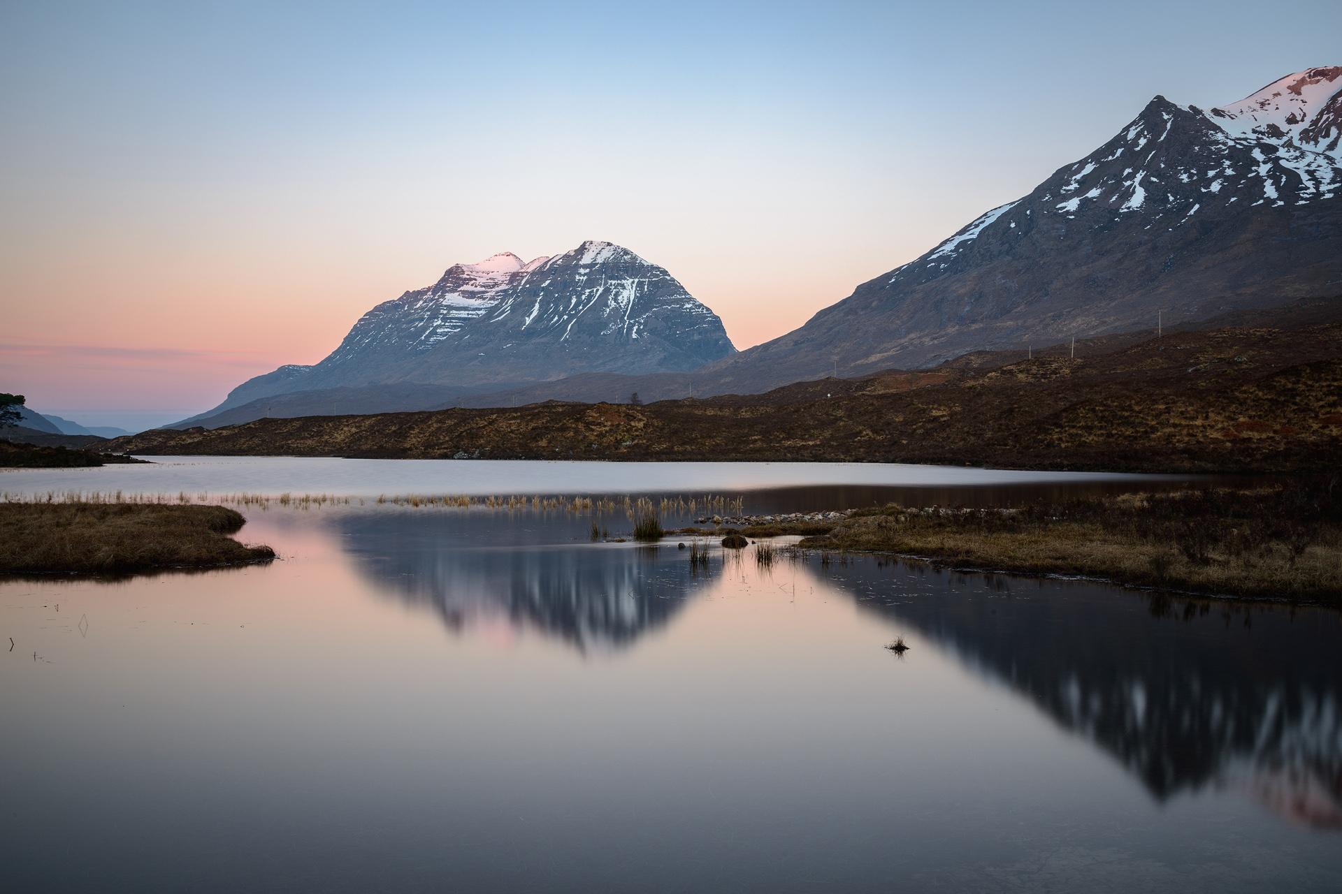 Liathach Dawn Reflection