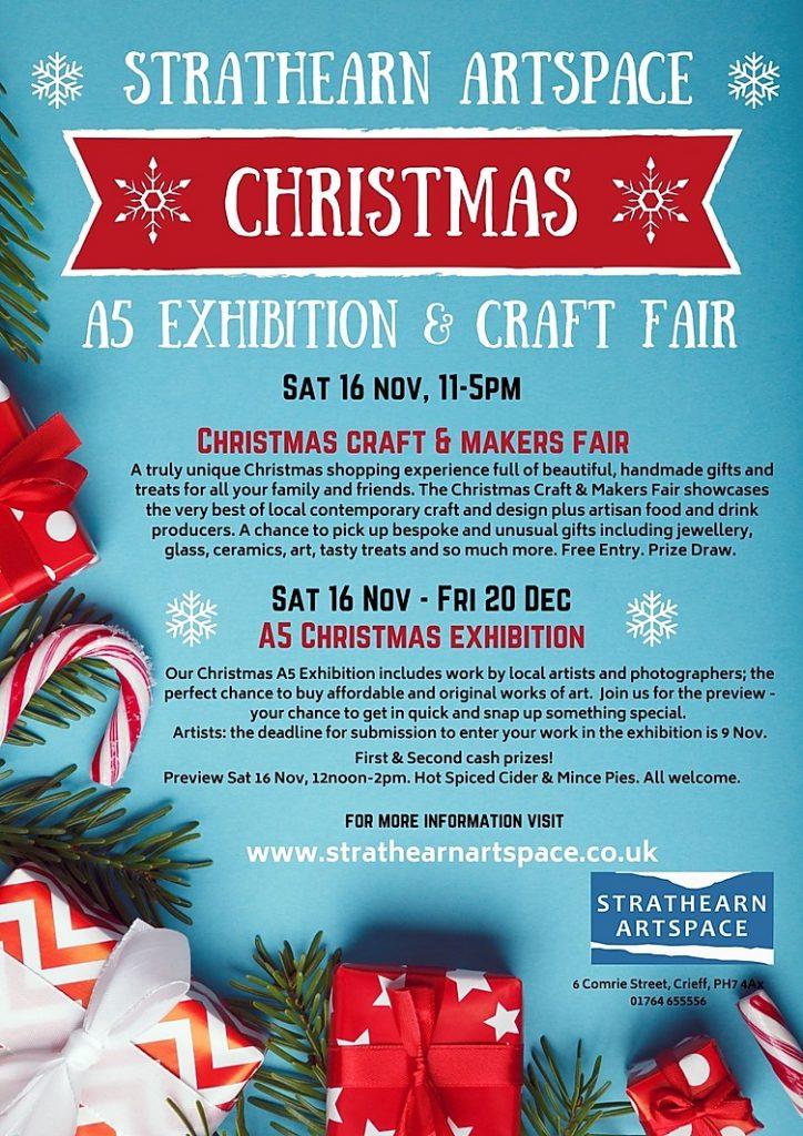 Strathearn Artspace Craft Fair