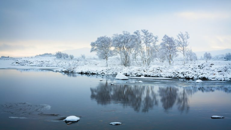 Winter's Morning, Rannoch Moor