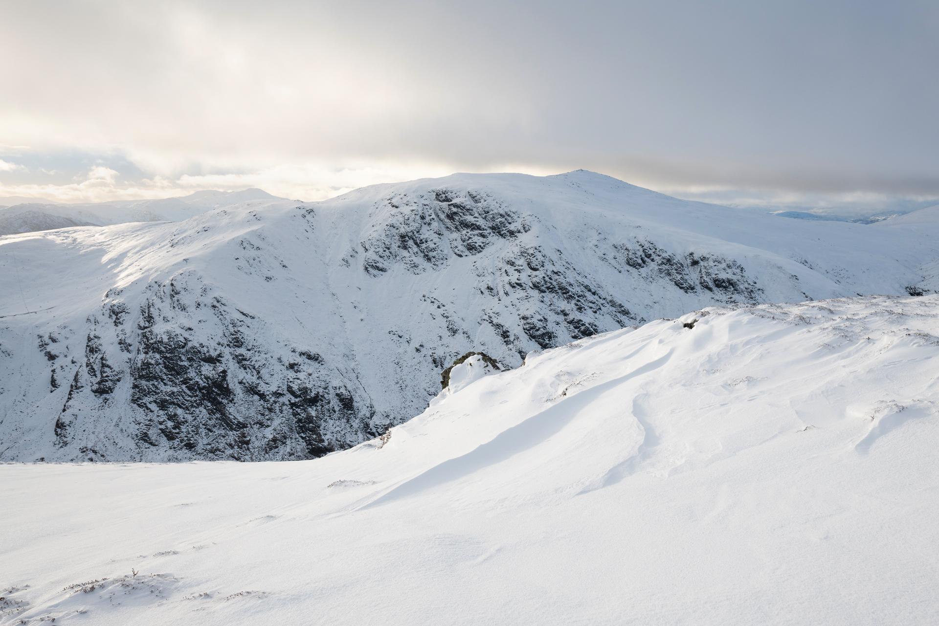 Winter Light, Carn Chois from Choinneachain Hill -Annette Forsyth Photography