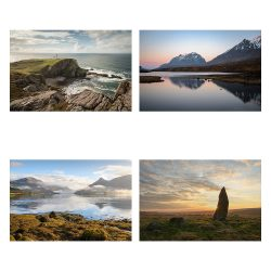 Handmade Greeting Card Pack – Classic Scotland 2