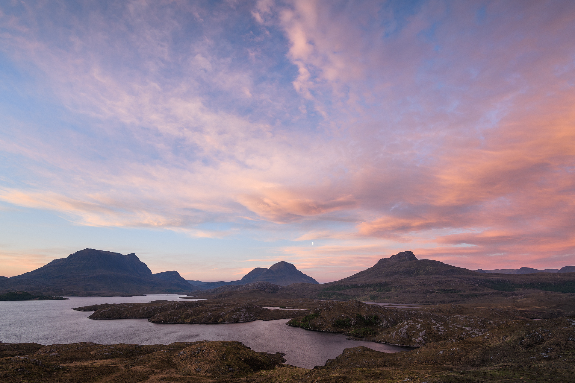 Loch Sionasgaig Dawn
