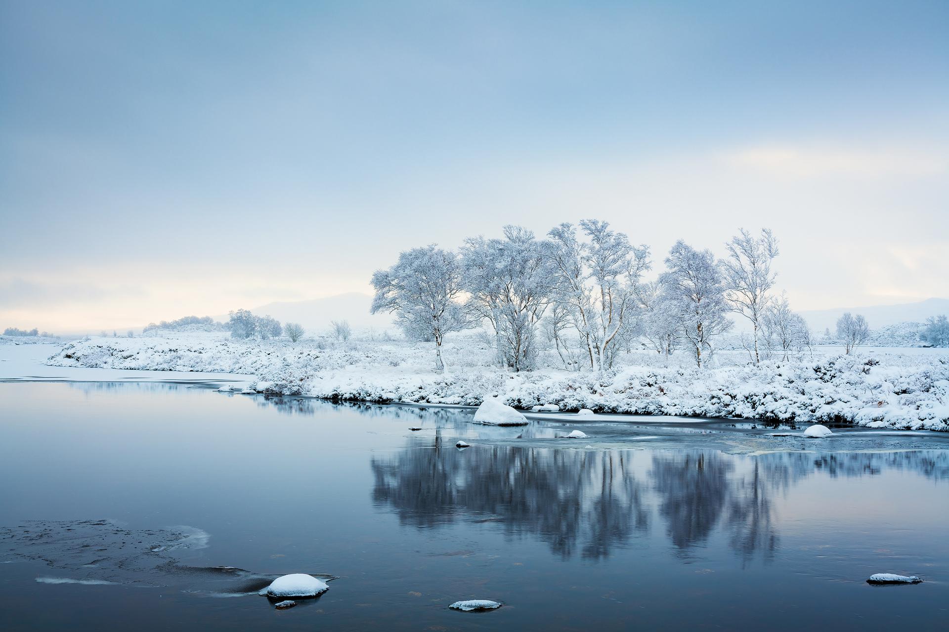 Winter's Morning, Rannoch Moor