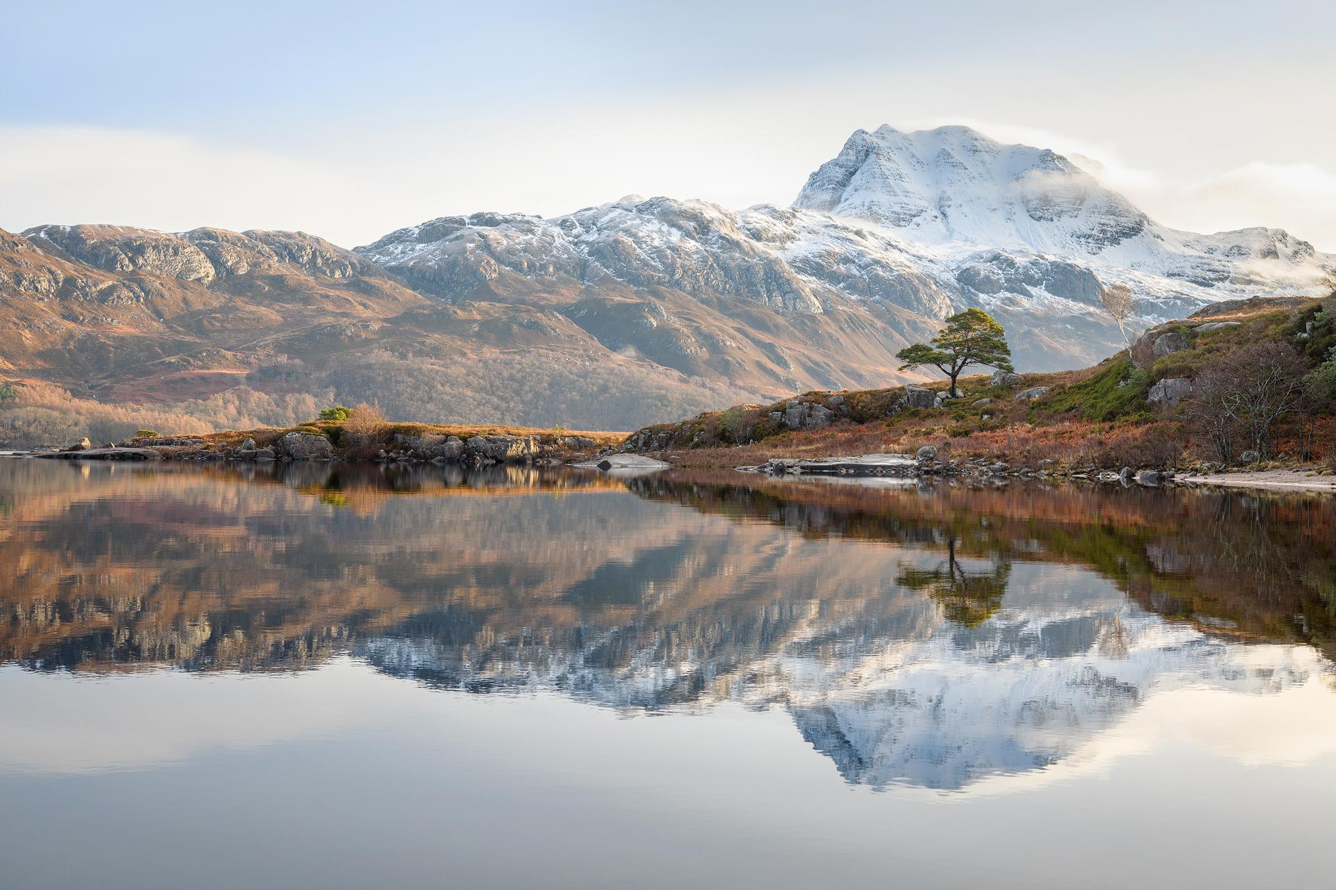 Still February Morning, Loch Maree *