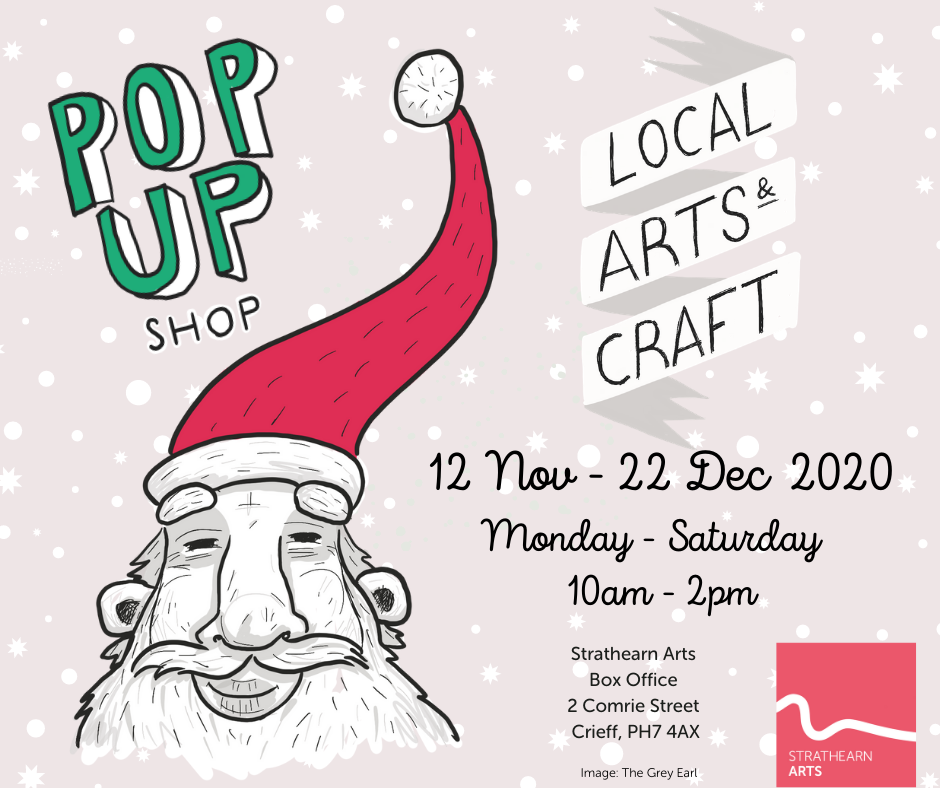 Artspace Christmas Pop-up shop poster