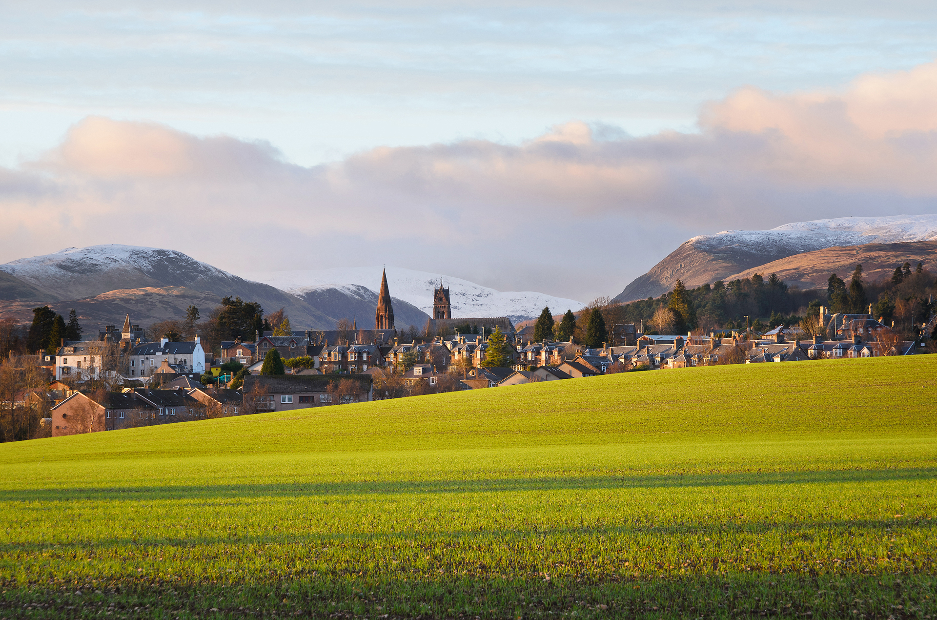 A Promise of Spring, Crieff
