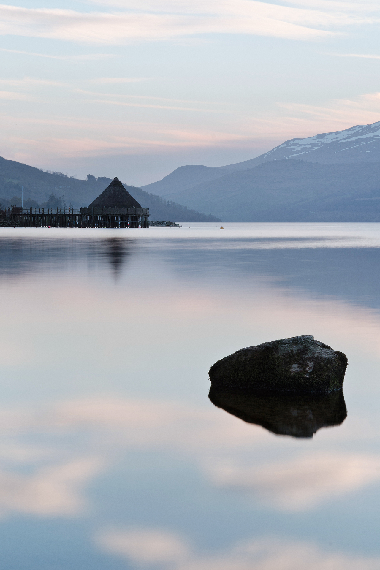 Afterglow, The Crannog, Kenmore