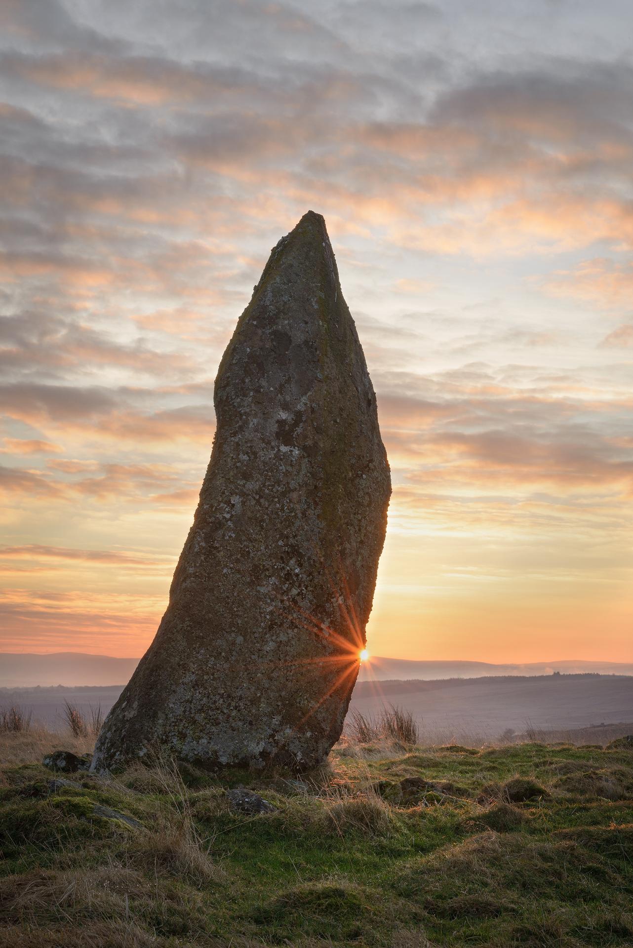 Cold Sunrise, Strathearn Standing Stone