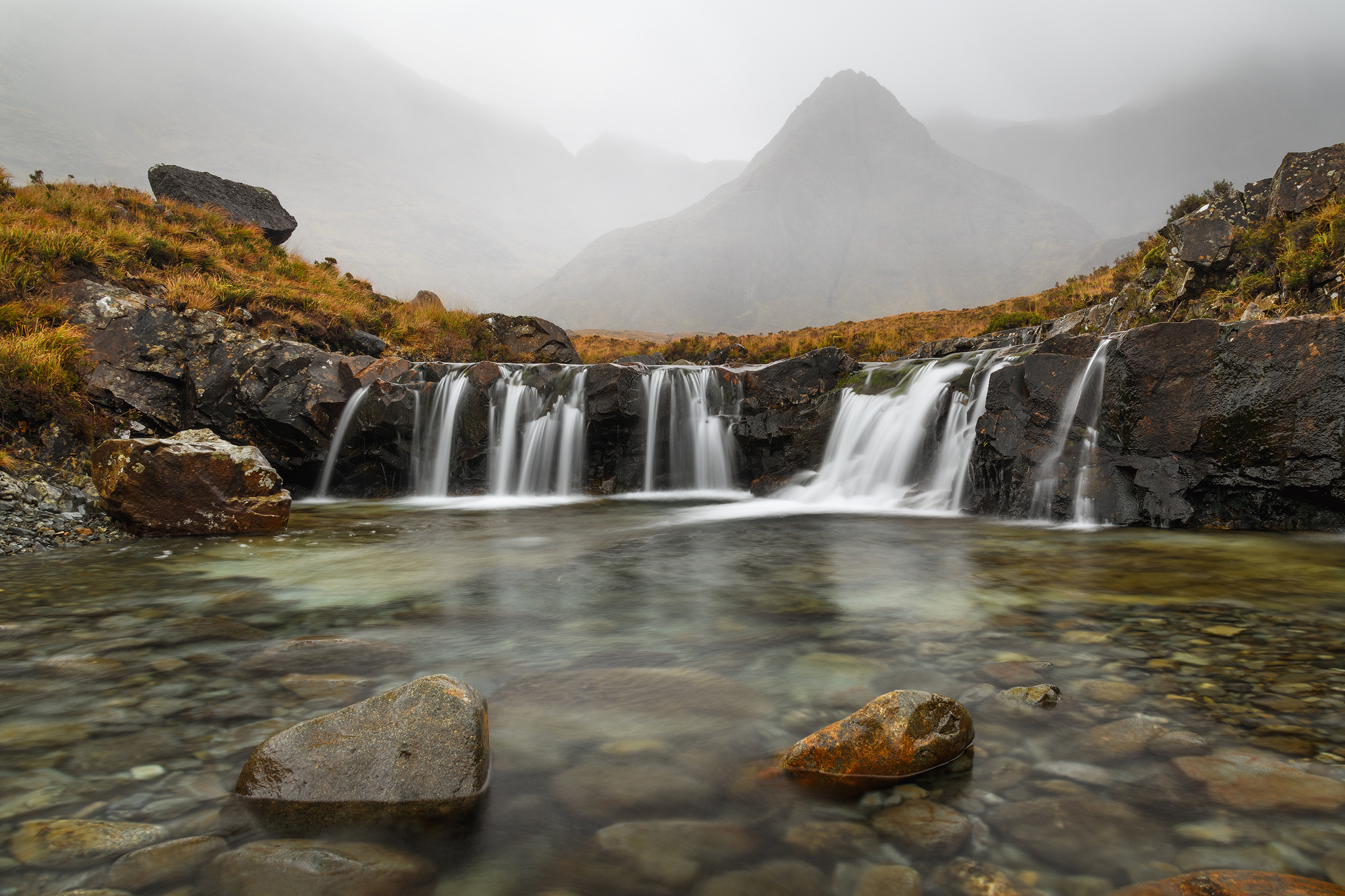 Fairy Pools in the Mist