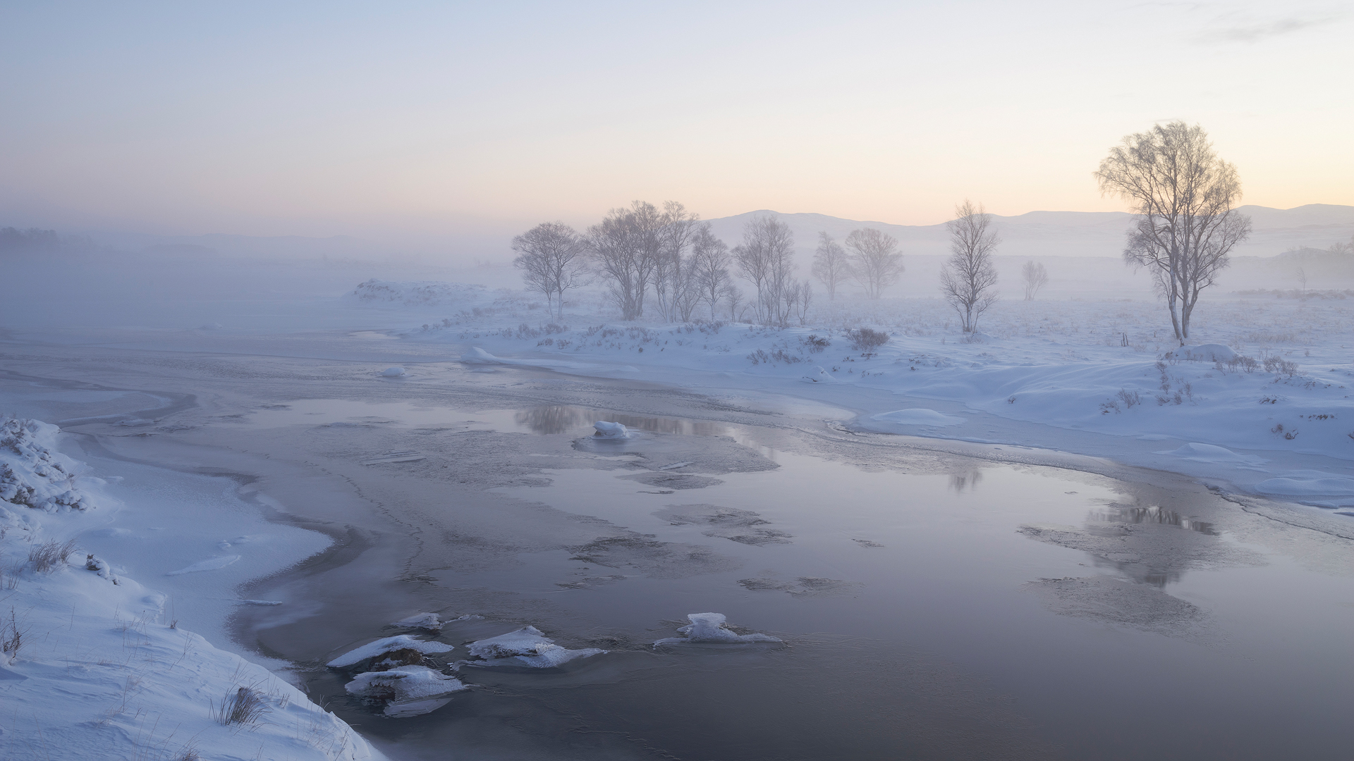 Freezing Dawn, Rannoch Moor
