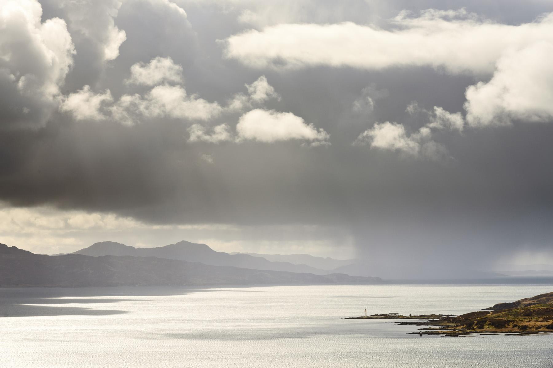 Shower over Ornsay, Skye