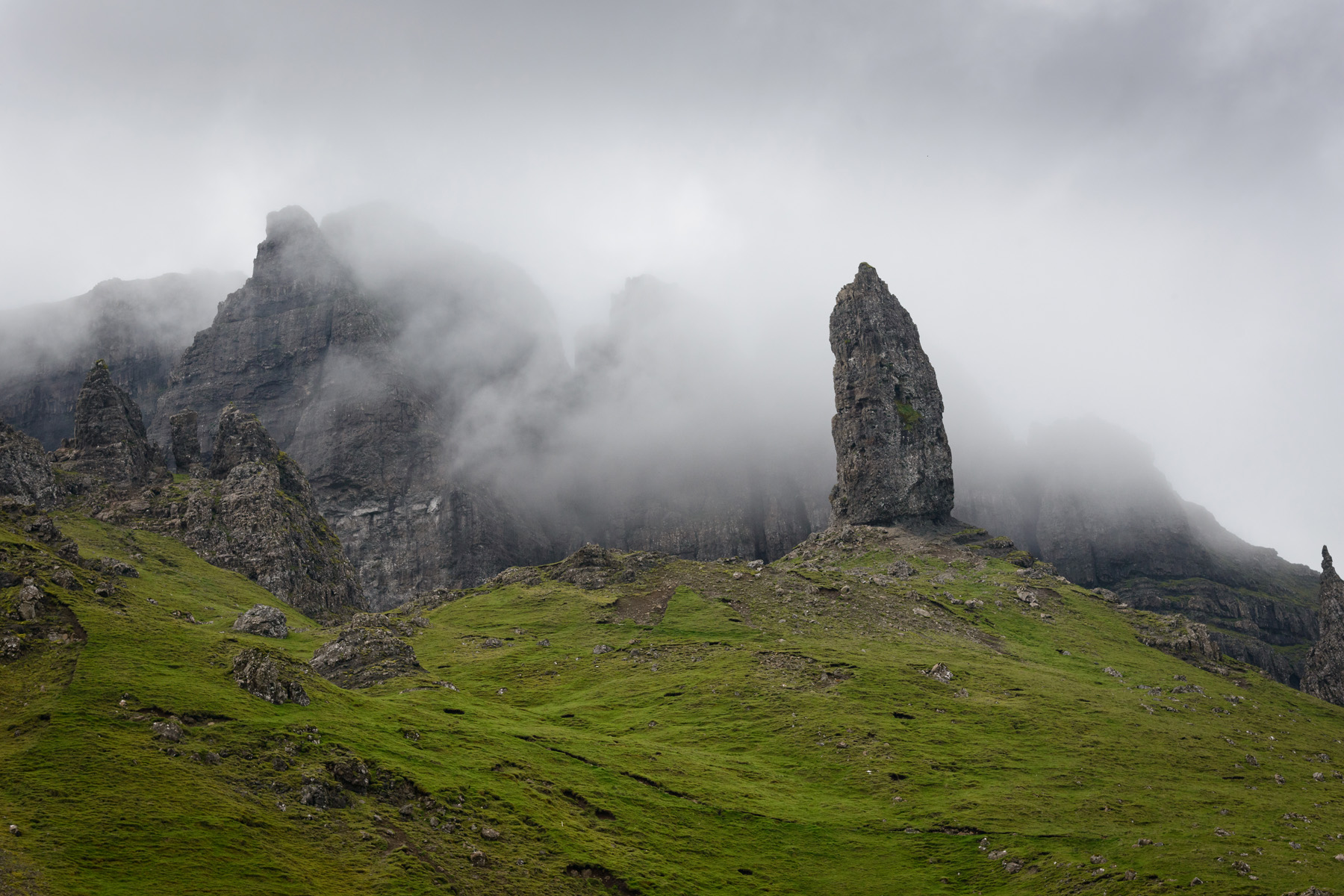 Shrouded, Old Man of Storr