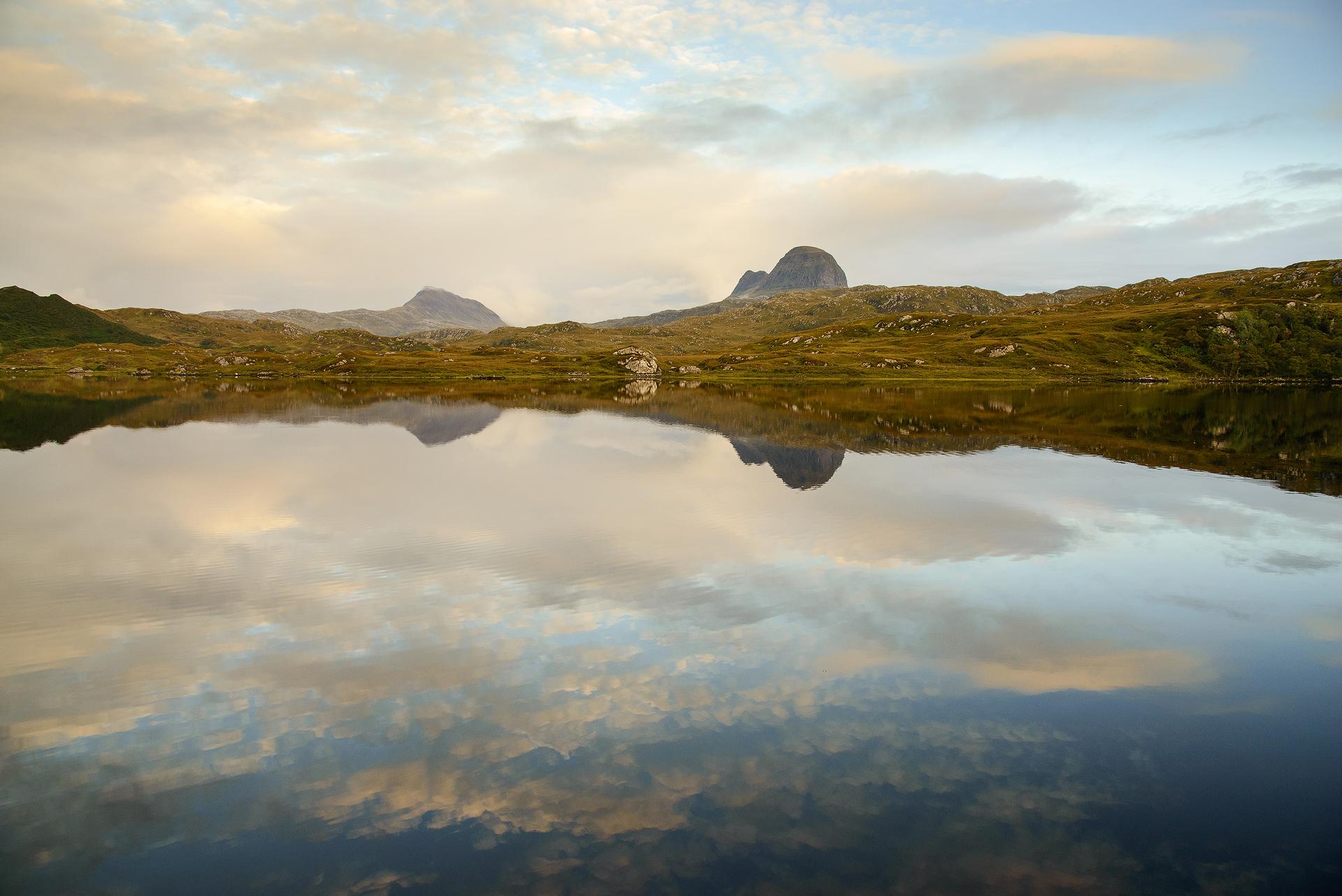 Suilven & Canisp, Loch Druim Suardalain