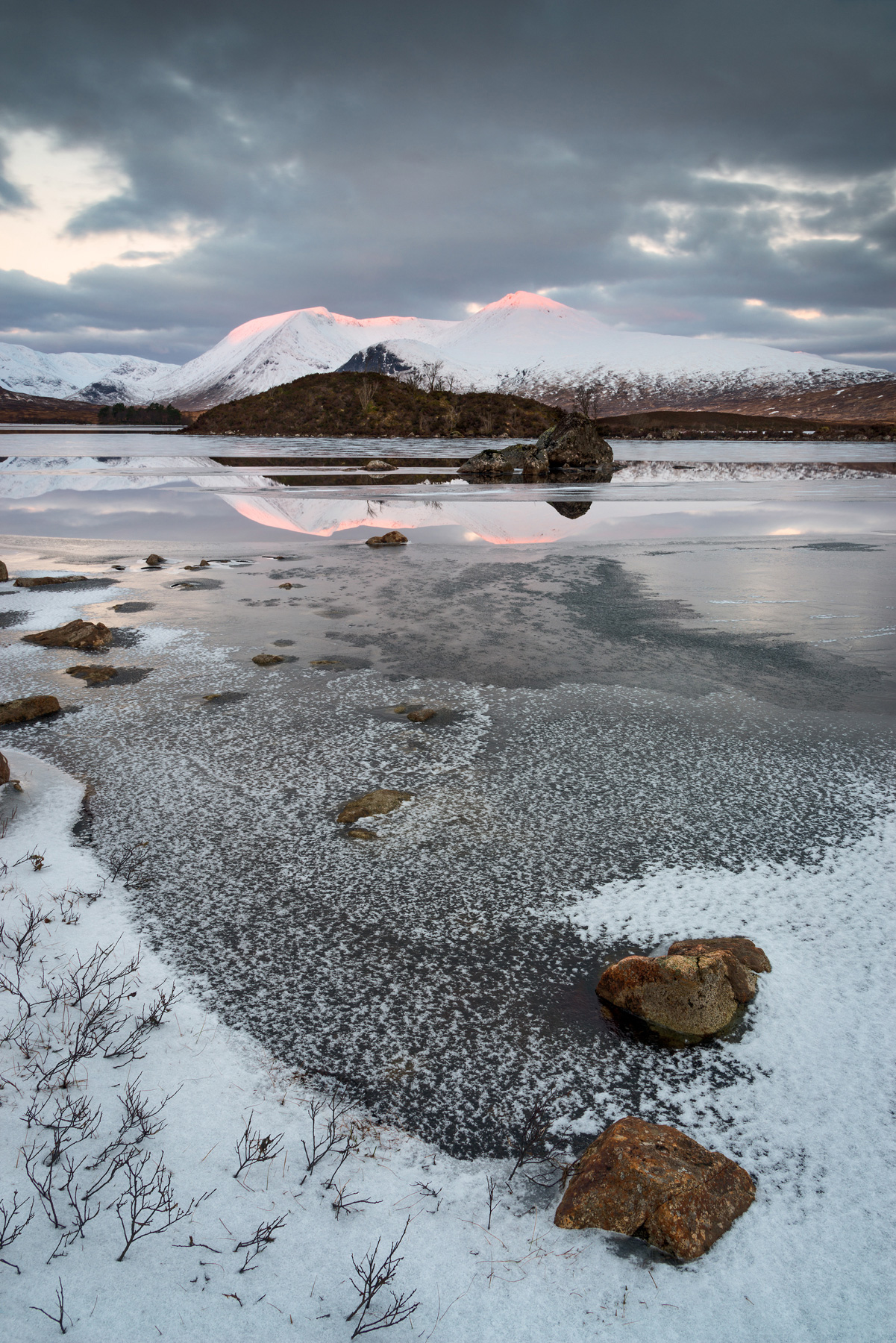 Touched by Day, Rannoch Moor