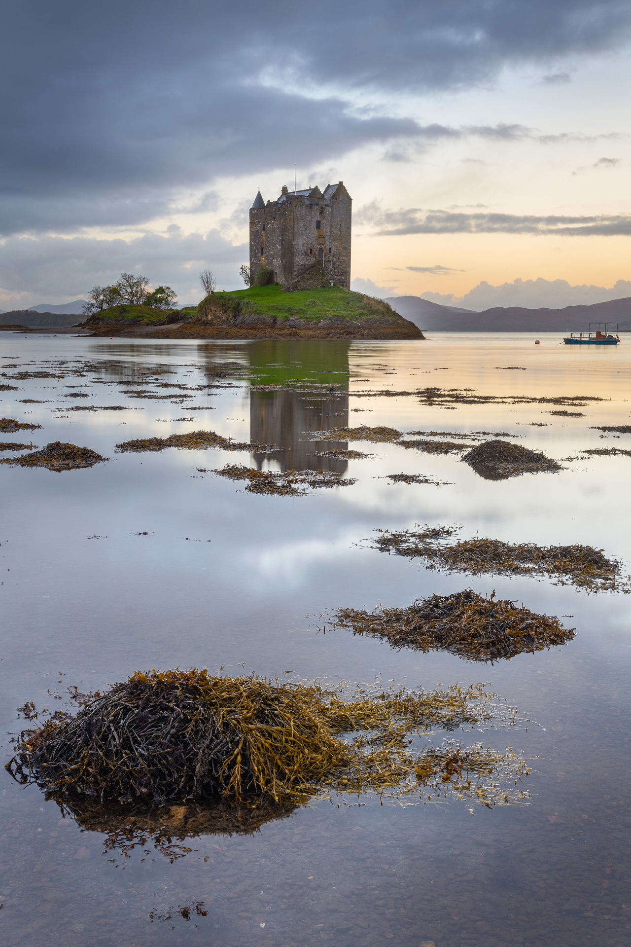 Castle Stalker Sunrise