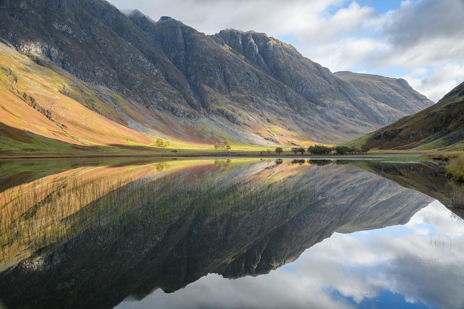 Autumn Reflections, Loch Achtriochtan
